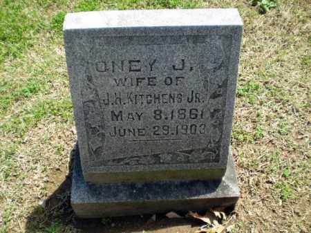 KITCHENS, ONEY J. - Craighead County, Arkansas | ONEY J. KITCHENS - Arkansas Gravestone Photos