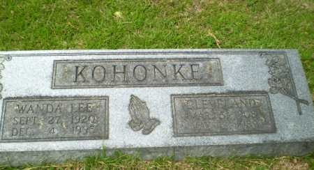 LEE KOHONKE, WANDA - Craighead County, Arkansas | WANDA LEE KOHONKE - Arkansas Gravestone Photos