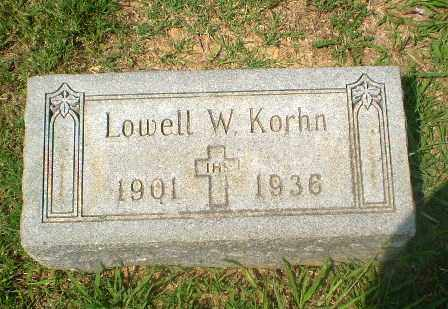 KORHN, LOWELL - Craighead County, Arkansas | LOWELL KORHN - Arkansas Gravestone Photos