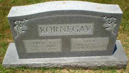 KORNEGAY, FRED I - Craighead County, Arkansas | FRED I KORNEGAY - Arkansas Gravestone Photos