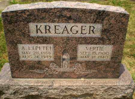 "KREAGER, A.L. ""PETE"" - Craighead County, Arkansas 