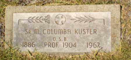 KUSTER, SISTER M. COLUMBA - Craighead County, Arkansas | SISTER M. COLUMBA KUSTER - Arkansas Gravestone Photos