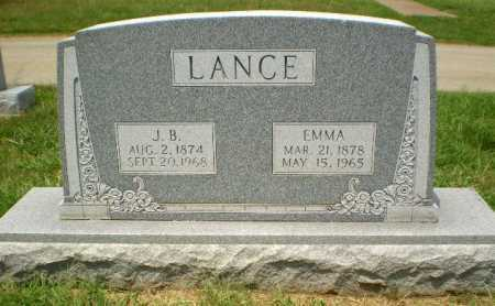 LANCE, EMMA - Craighead County, Arkansas | EMMA LANCE - Arkansas Gravestone Photos