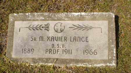 LANCE, SISTER M. XAVIER - Craighead County, Arkansas | SISTER M. XAVIER LANCE - Arkansas Gravestone Photos