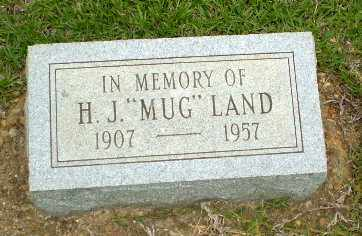 "LAND, H.J. ""MUG"" - Craighead County, Arkansas 