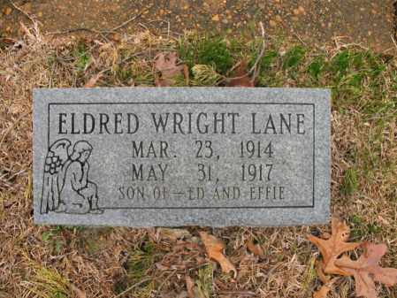 LANE, ELDRED WRIGHT - Craighead County, Arkansas | ELDRED WRIGHT LANE - Arkansas Gravestone Photos