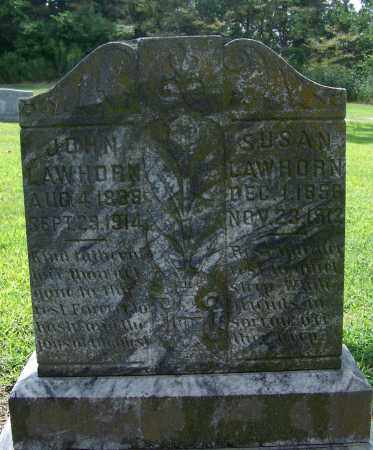 LAWHORN, JOHN - Craighead County, Arkansas | JOHN LAWHORN - Arkansas Gravestone Photos