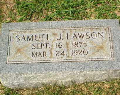LAWSON, SAMUEL J - Craighead County, Arkansas | SAMUEL J LAWSON - Arkansas Gravestone Photos