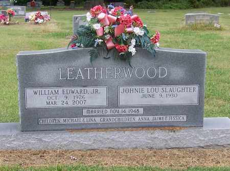 LEATHERWOOD JR., EDWARD - Craighead County, Arkansas | EDWARD LEATHERWOOD JR. - Arkansas Gravestone Photos