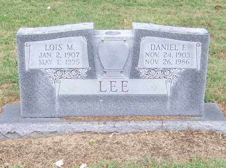LEE, DANIEL F. - Craighead County, Arkansas | DANIEL F. LEE - Arkansas Gravestone Photos