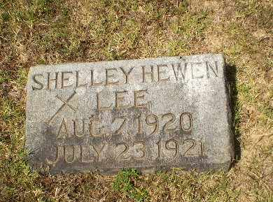 LEE, SHELLEY HEWEN (BABY) - Craighead County, Arkansas | SHELLEY HEWEN (BABY) LEE - Arkansas Gravestone Photos