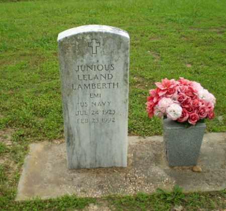 LAMBERTH (VETERAN), JUNIOUS LELAND - Craighead County, Arkansas | JUNIOUS LELAND LAMBERTH (VETERAN) - Arkansas Gravestone Photos