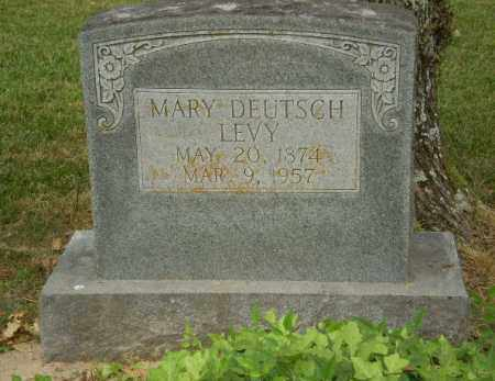 DEUTSCH LEVY, MARY - Craighead County, Arkansas | MARY DEUTSCH LEVY - Arkansas Gravestone Photos