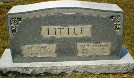 LITTLE, LOT SAVAGE - Craighead County, Arkansas | LOT SAVAGE LITTLE - Arkansas Gravestone Photos