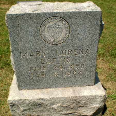 LOFTIS, MARY LORENA - Craighead County, Arkansas | MARY LORENA LOFTIS - Arkansas Gravestone Photos