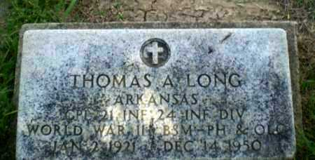 LONG  (VETERAN WWII), THOMAS A - Craighead County, Arkansas | THOMAS A LONG  (VETERAN WWII) - Arkansas Gravestone Photos