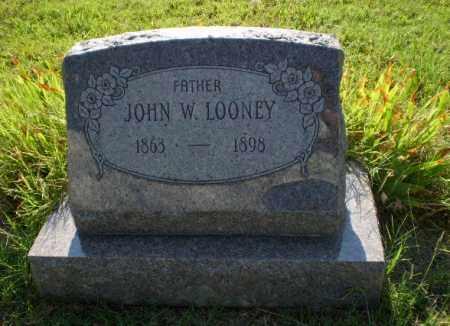 LOONEY, JOHN W. - Craighead County, Arkansas | JOHN W. LOONEY - Arkansas Gravestone Photos