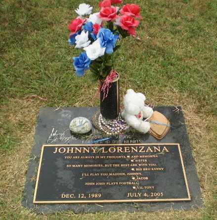 LORENZANA, JOHNNY - Craighead County, Arkansas | JOHNNY LORENZANA - Arkansas Gravestone Photos