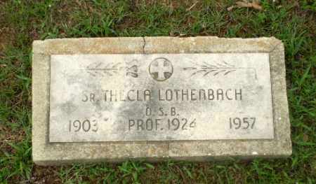 LOTHENBACH, SISTER THECLA - Craighead County, Arkansas | SISTER THECLA LOTHENBACH - Arkansas Gravestone Photos