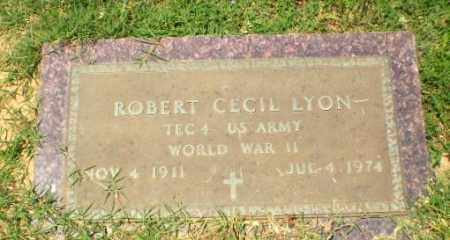 LYON  (VETERAN WWII), ROBERT CECIL - Craighead County, Arkansas | ROBERT CECIL LYON  (VETERAN WWII) - Arkansas Gravestone Photos