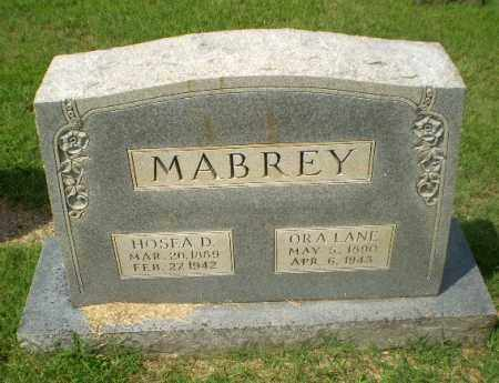 MABREY, ORA - Craighead County, Arkansas | ORA MABREY - Arkansas Gravestone Photos