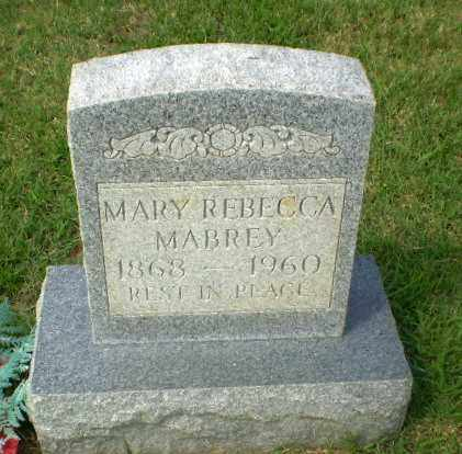 MABREY, MARY REBECCA - Craighead County, Arkansas | MARY REBECCA MABREY - Arkansas Gravestone Photos
