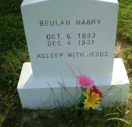 MABRY, BEULAH - Craighead County, Arkansas | BEULAH MABRY - Arkansas Gravestone Photos