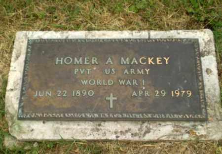 MACKEY  (VETERAN WWI), HOMER A - Craighead County, Arkansas | HOMER A MACKEY  (VETERAN WWI) - Arkansas Gravestone Photos