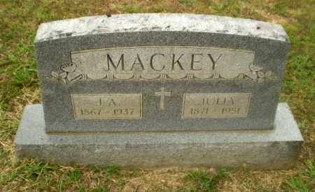 MACKEY, J.A. - Craighead County, Arkansas | J.A. MACKEY - Arkansas Gravestone Photos