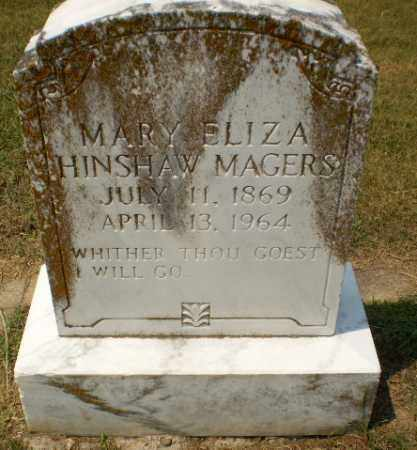 MAGERS, MARY ELIZA - Craighead County, Arkansas | MARY ELIZA MAGERS - Arkansas Gravestone Photos