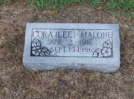 MALONE, CORA (LEE) - Craighead County, Arkansas | CORA (LEE) MALONE - Arkansas Gravestone Photos