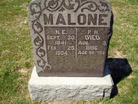 MALONE, P H - Craighead County, Arkansas | P H MALONE - Arkansas Gravestone Photos