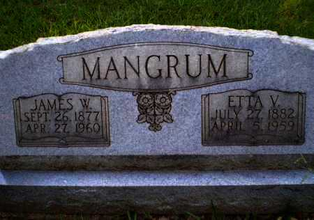 MANGRUM, JAMES W - Craighead County, Arkansas | JAMES W MANGRUM - Arkansas Gravestone Photos