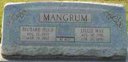 MANGRUM, RICHARD HUGH - Craighead County, Arkansas | RICHARD HUGH MANGRUM - Arkansas Gravestone Photos