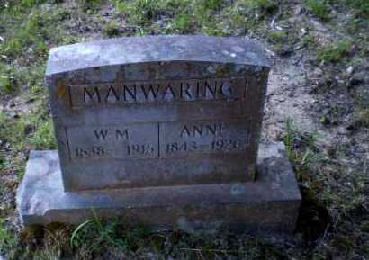 MANWARING, ANNE - Craighead County, Arkansas | ANNE MANWARING - Arkansas Gravestone Photos