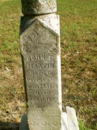 MARTIN, JOHN F - Craighead County, Arkansas | JOHN F MARTIN - Arkansas Gravestone Photos