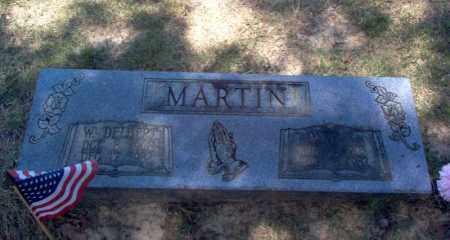 MARTIN, W DELBERT - Craighead County, Arkansas | W DELBERT MARTIN - Arkansas Gravestone Photos