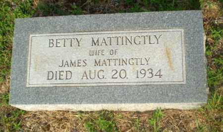 MATTINGTLY, BETTY - Craighead County, Arkansas | BETTY MATTINGTLY - Arkansas Gravestone Photos