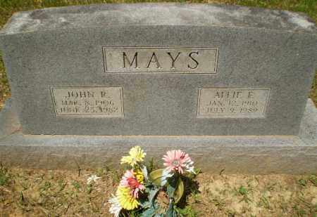 MAYS, ALLIE F - Craighead County, Arkansas | ALLIE F MAYS - Arkansas Gravestone Photos
