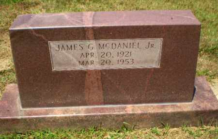 MCDANIEL, JR, JAMES G - Craighead County, Arkansas | JAMES G MCDANIEL, JR - Arkansas Gravestone Photos