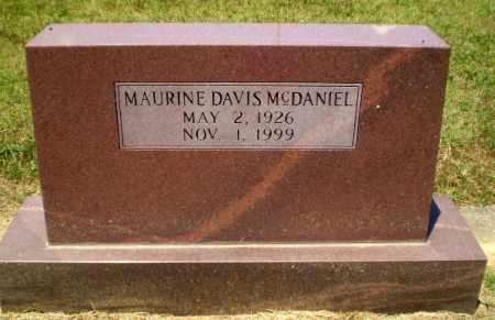 DAVIS MCDANIEL, MAURINE - Craighead County, Arkansas | MAURINE DAVIS MCDANIEL - Arkansas Gravestone Photos