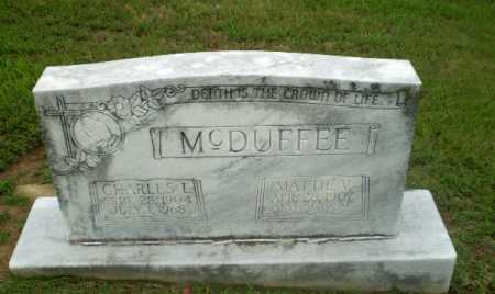 MCDUFFEE, MATTIE V - Craighead County, Arkansas | MATTIE V MCDUFFEE - Arkansas Gravestone Photos