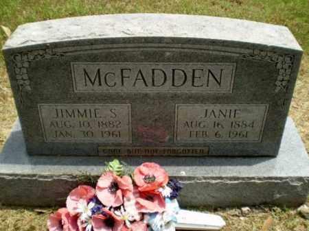 MCFADDEN, JANIE - Craighead County, Arkansas | JANIE MCFADDEN - Arkansas Gravestone Photos