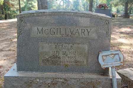 MCGILLVARY, RUBY B. - Craighead County, Arkansas | RUBY B. MCGILLVARY - Arkansas Gravestone Photos