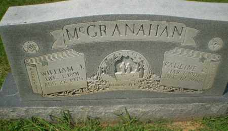 MCGRANAHAN, WILLIAM J - Craighead County, Arkansas | WILLIAM J MCGRANAHAN - Arkansas Gravestone Photos