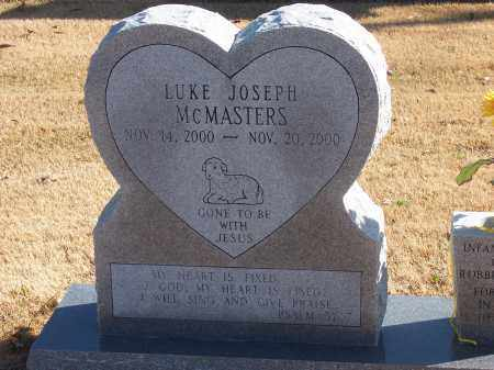 MCMASTERS, LUKE JOSEPH - Craighead County, Arkansas | LUKE JOSEPH MCMASTERS - Arkansas Gravestone Photos