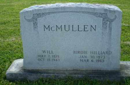 HILLIARD MCMULLEN, BIRDIE - Craighead County, Arkansas | BIRDIE HILLIARD MCMULLEN - Arkansas Gravestone Photos