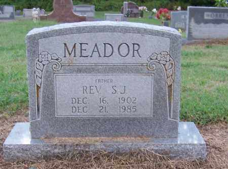 MEADOR, REV., S.J. - Craighead County, Arkansas | S.J. MEADOR, REV. - Arkansas Gravestone Photos