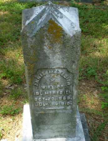MEREDITH, ANNIE - Craighead County, Arkansas | ANNIE MEREDITH - Arkansas Gravestone Photos