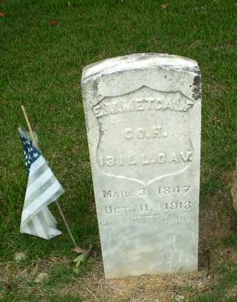 METCALF  (VETERAN UNION), ERASMUS M - Craighead County, Arkansas | ERASMUS M METCALF  (VETERAN UNION) - Arkansas Gravestone Photos